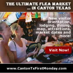 Canton Texas First Monday Trade Days ... visit there now!