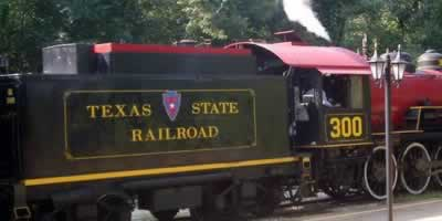 The Texas State Railroad, Rusk, Texas