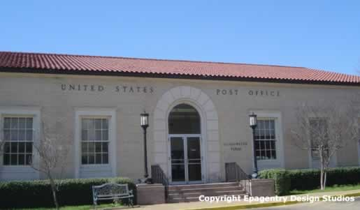 U.S. Post Office, Gladewater Texas