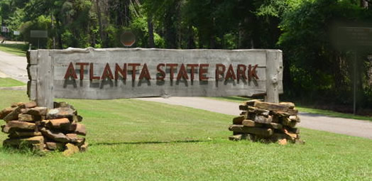 Atlanta State Park in East Texas