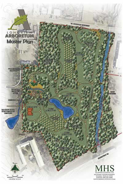 Master plan for the Longview Arboretum