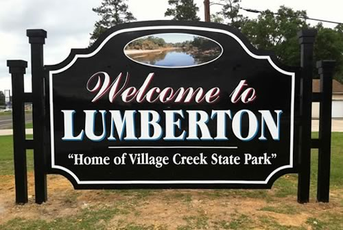 Welcome to Lumberton, Texas ... Home of Village Creek State Park