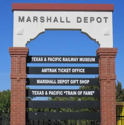 Marshall, Texas - Texas & Pacific (T&P) Railway Station, November 2011