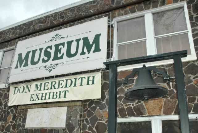 Museum featuring the Don Meredith Exhibit in downtown Mount Vernon, Texas