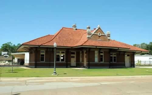Railroad Museum and SFA Center for Regional Heritage in Nacogdoches, Texas