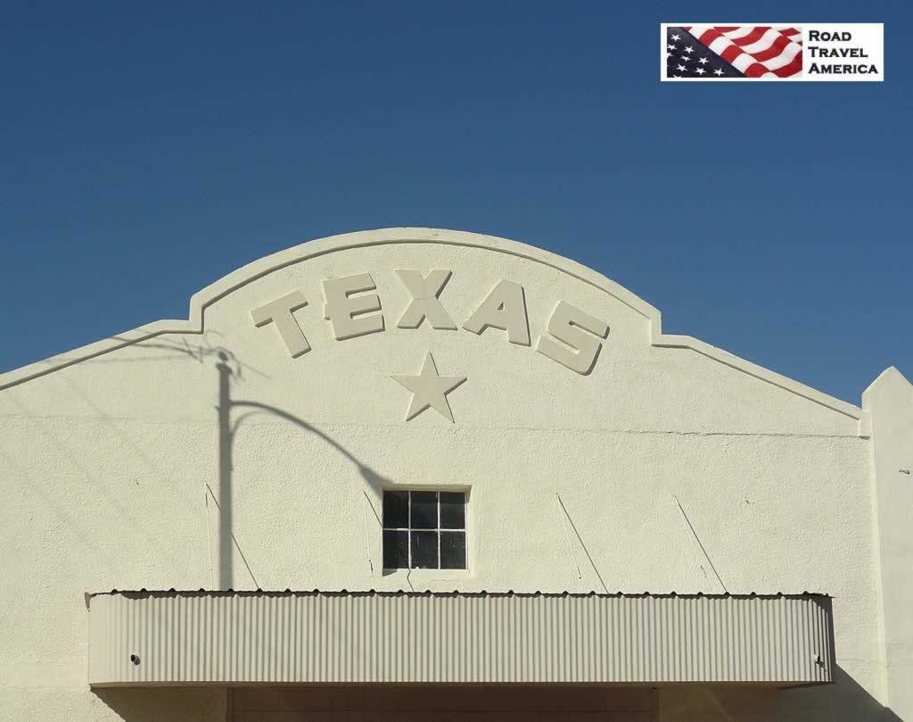The Historic Texas Theater, downtown, Marfa, Texas