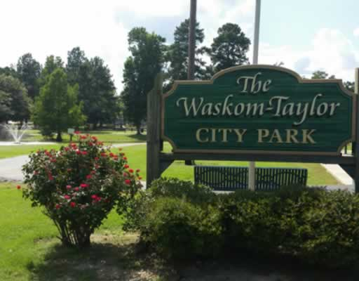 The Waskom-Taylor City Park in East Texas