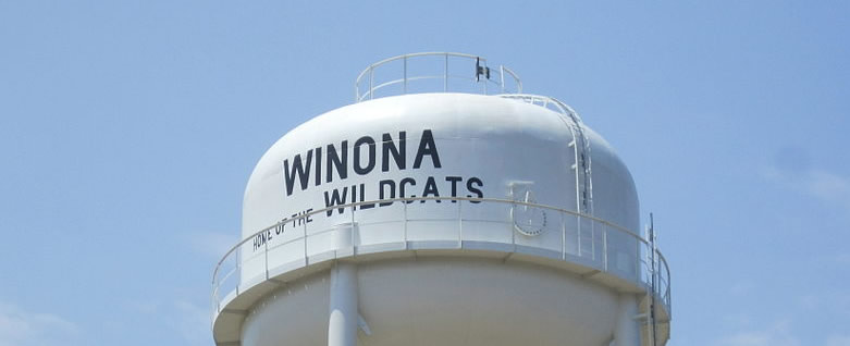 Another beautiful, sunny day in Winona ... Home of the Wildcats!