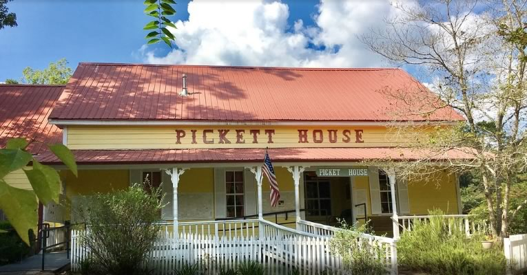 The Pickett House in Woodville, Texas