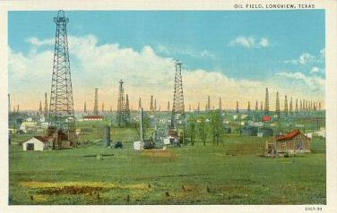 Oil Field, Longview, Texas