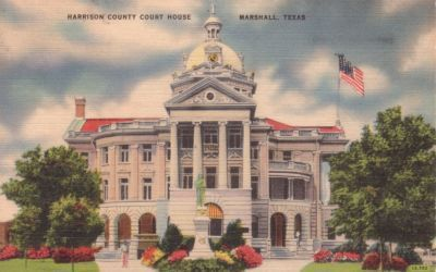Harrison County Court House, Marshall, Texas