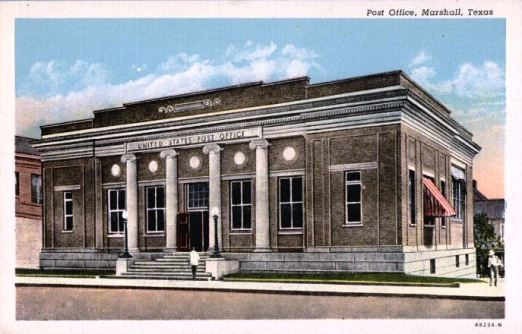Post Office, Marshall, Texas