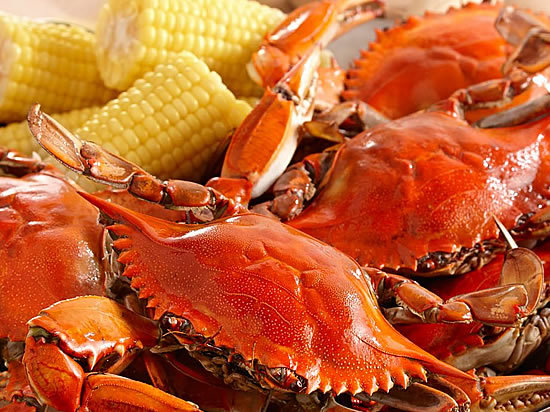 Texas Boiled Crabs