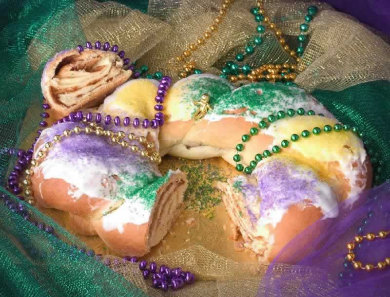 It's just not Mardi Gras in Texas without a King Cake!