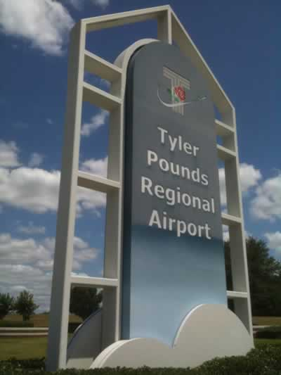 Tyler Pounds Regional Airport in Texas
